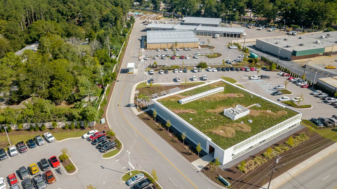 View the City of Columbia Water Headquarters Project